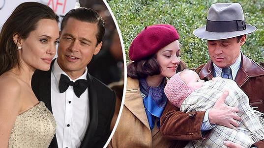 Brad se měl zakoukat do Marion Cotillard, což Angelina těžce nese.