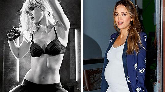 Jessica Alba se těší na třetího potomka.