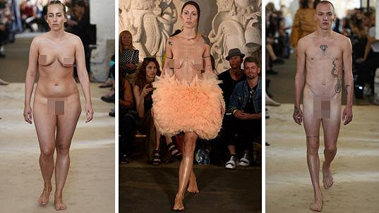 Máte rádi módu? A viděli jste na přehlídce někdy něco podobného?