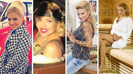 Sexy blondýna mnoha tváří