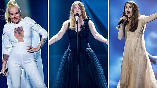 Tyto zpěvačky budou Martině konkurovat v semifinále Eurovize.
