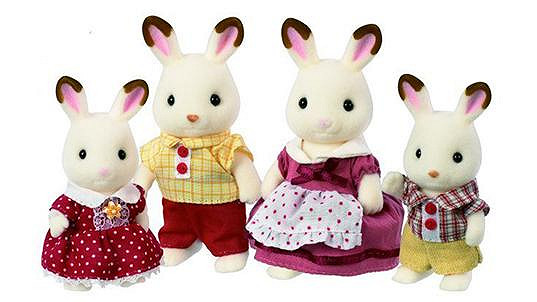 Sylvanias Families rodinka králíků