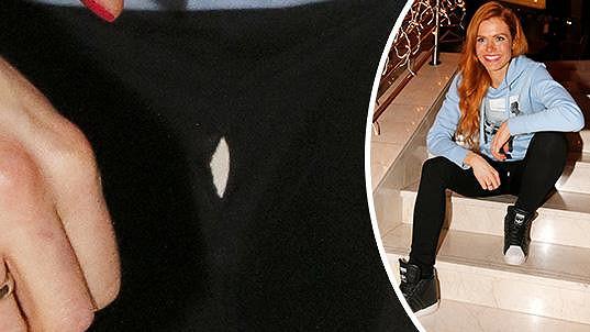Gabriela Koukalová měla vtipnou nehodu s kalhotami.