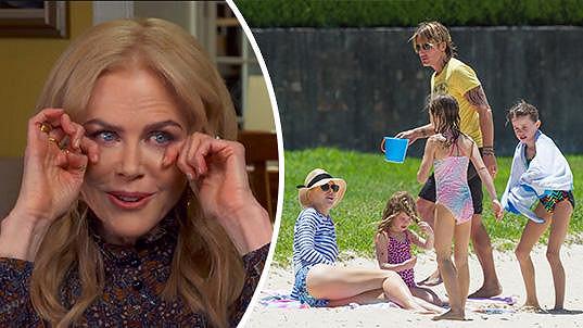 Nicole Kidman má strach z rozpadu rodiny.