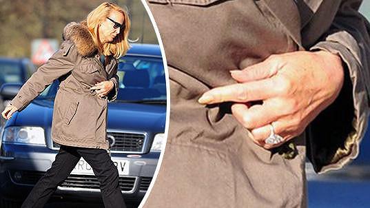Zásnubní prsten Jerry Hall od Ruperta Murdocha