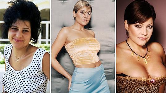 Takhle se jedna z nejvýraznějších tuzemských zpěvaček měnila v čase....