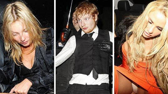 Tyto celebrity moc dobře ví, co je to kocovina.