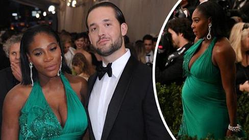 Serena Williams očekává miminko.