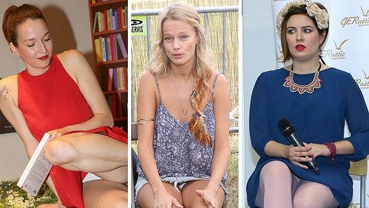 Tyhle tři dámy letos ukázaly tajemství svého klína....