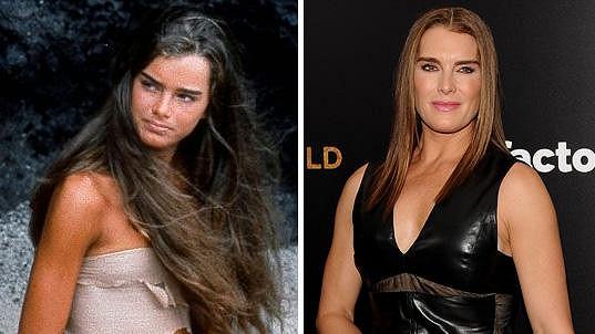 Brooke Shields po 35 letech