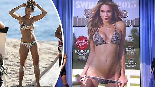 Hannah Davis znovu dokázala, že na stránky slavného plavkového magazínu patří...