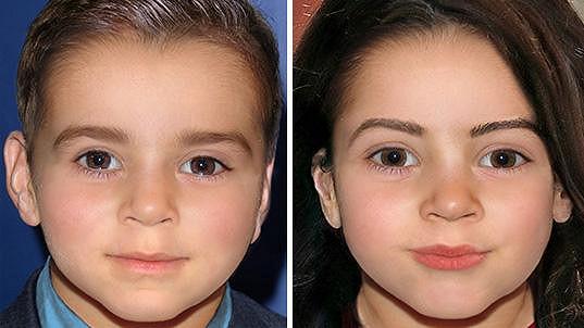 Možná podoba dětí Amal a George Clooneyových?
