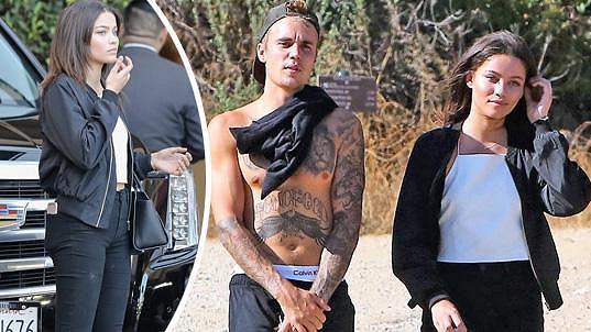 Justin Bieber a Audreyana Michelle