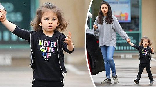 Mila Kunis s dcerkou Wyatt