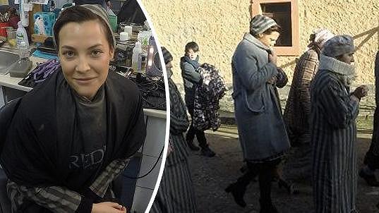 V Terezíně čekala Katku jedna z náročnějších scén.
