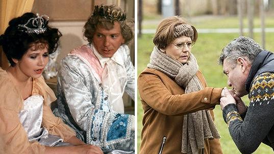 Ivana Andrlová v 80. letech a dnes