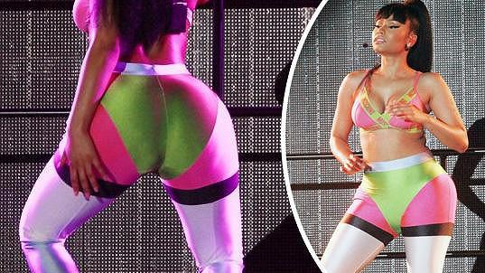 Nicki Minaj a její chlouba