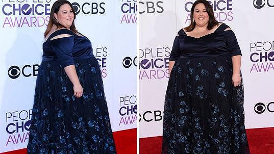 Chrissy pro sebe zabrala celý červený koberec.