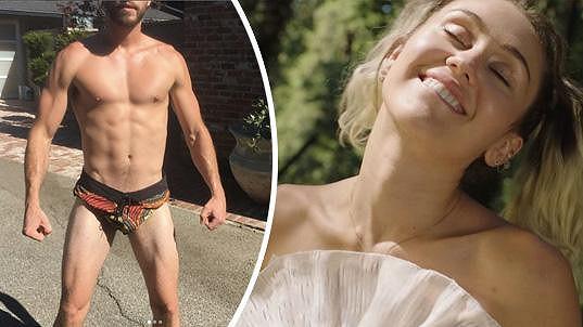 Miley se pochlubila Liamem.