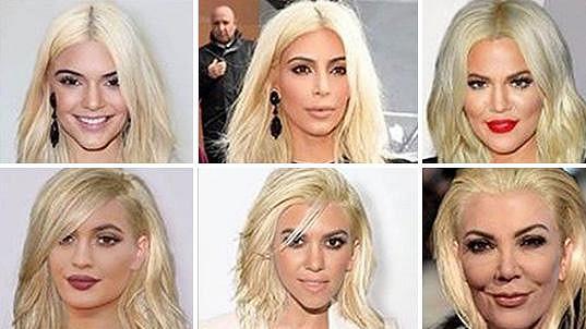 Takhle by vypadaly všechny ženy z rodiny v blond vlasech...