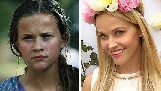 Tyto fotky Reese Witherspoon od sebe dělí 25 let!