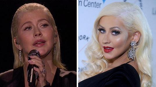 Christina Aguilera se dost změnila.