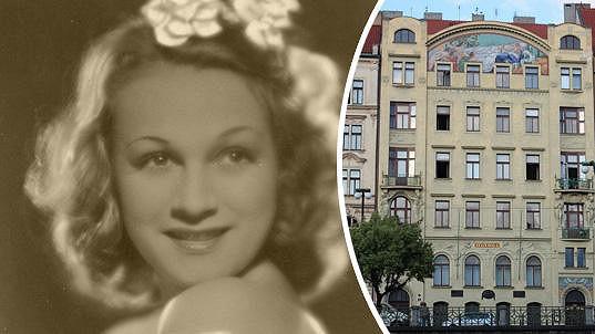 V domě Hlaholu u Vltavy bydlely svého času Adina Mandlová i Hana Vítová....