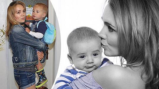 Lucie Vondráčková je pyšnou maminkou.