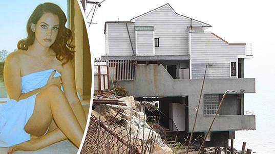 Lana Del Rey a její nové hnízdečko v Malibu...