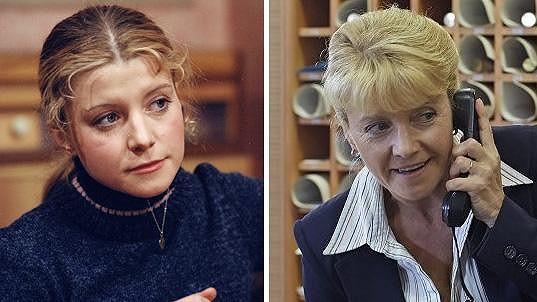 Dagmar Čárová včera a dnes