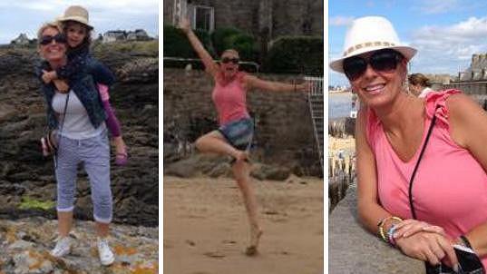 Lucie Benešová si dovolenou v Bretani opravdu užívá.