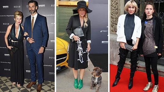 Kateřina Hrachovcová si fashion week užila.