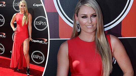 Lindsey Vonn zářila na předávání cen ESPYS Awards.