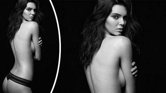 Kendall Jenner v sexy kampani na spodní prádlo