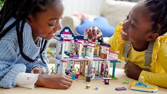Luxusní stavebnice domu Lego Friends