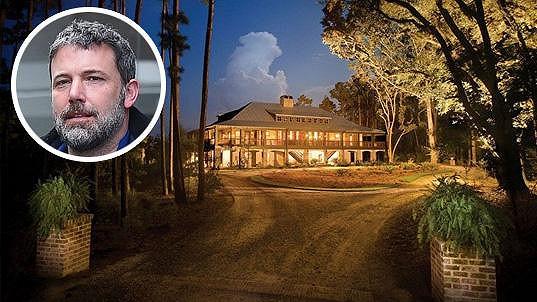 Ben Affleck prodává nemovitost v Georgii.