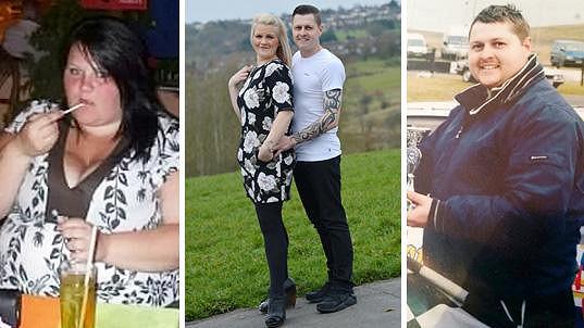 Jo a Dave společně zhubli skoro metrák.