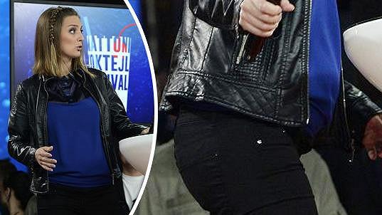 Bára Poláková čeká první dítě.