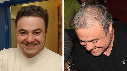 Martin Zounar už zdaleka nemá tolik vlasů...