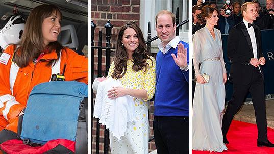 Z vévodkyně Kate se stala dvojnásobná maminka, ale nejen v tomto duchu se nesl rok 2015...