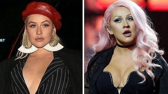 Christina Aguilera už neohromuje napěchovaným dekoltem.