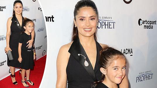 Salma Hayek s dcerou Valentinou Palomou