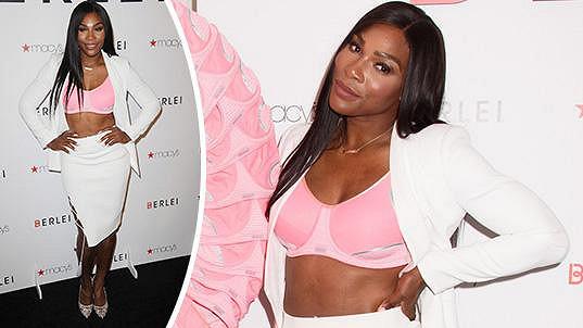 Serena Williams jako tvář značky Berlei