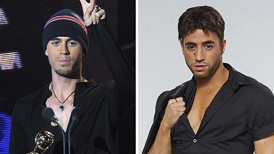 Milan Peroutka se proměnil v Enriqueho Iglesiase.