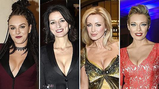Tyhle známé dámy předvedly v dekoltu své ženské zbraně...