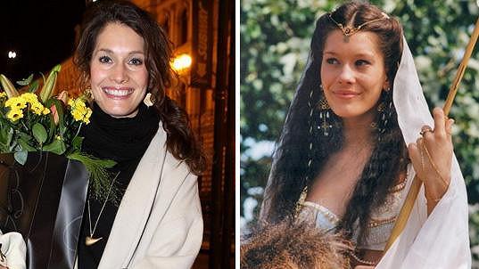 Barbora Seidlová dnes a před 19 lety v roli Zubejdy