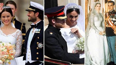 Nejkrásnější královské svatby