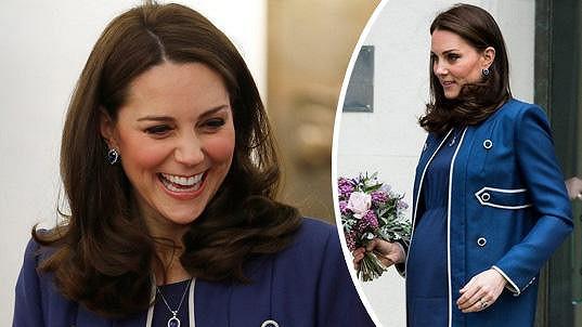 Kate se v dubnu stane trojnásobnou maminkou.