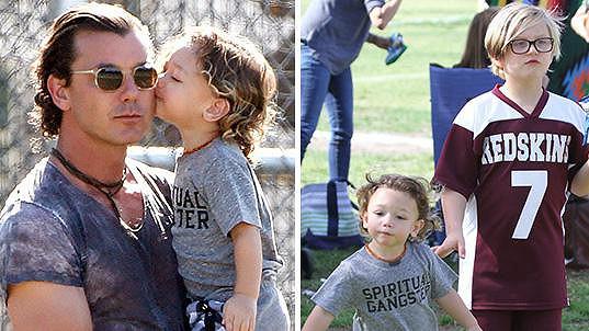 Gavin Rossdale a jeho synové