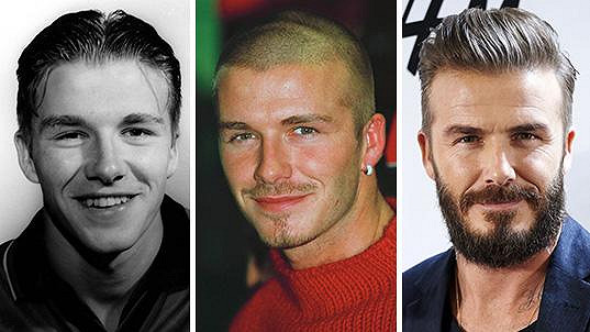 Jak šel čas s oslavencem Davidem Beckhamem?